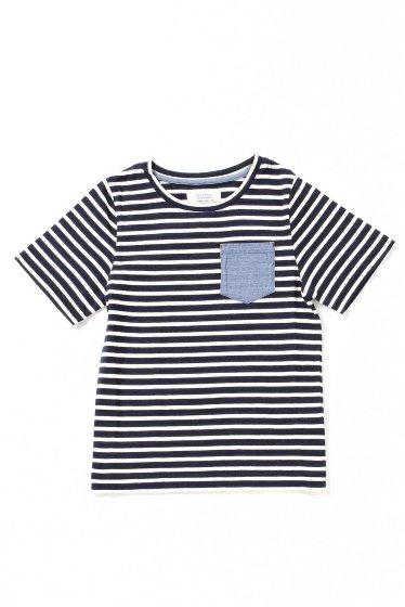 JOURNAL STANDARD relume KIDS: ボーダー/ソリッドポケットTシャツ